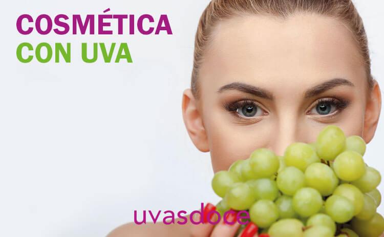 Cosmética con uva