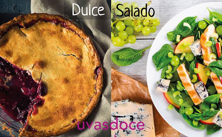 La fruta con el dulce o el salado