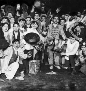 Uvas de Nochevieja en 1912