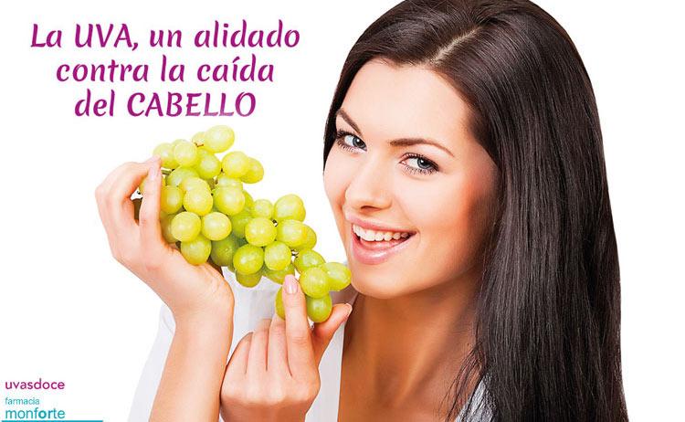 La uva contra la caída del cabello