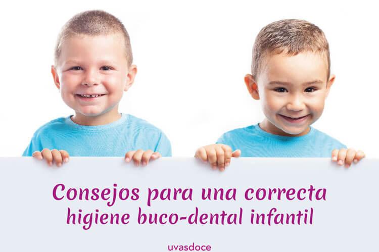 Consejos higiene buco-dental infantil