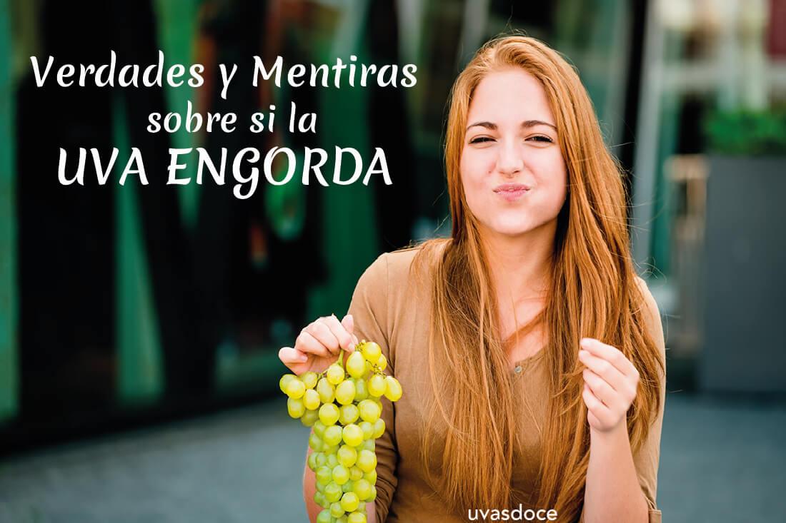 Verdades y mentiras sobre si la uva engorda