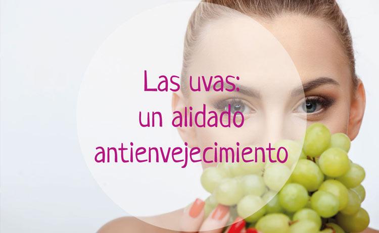Las uvas como un aliado antienvejecimiento