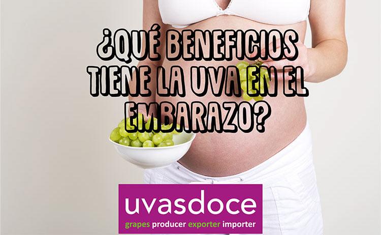 Uvas en el embarazo