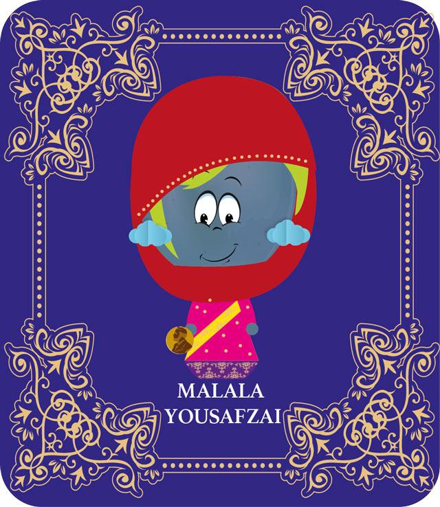Malala Yousafzai como nuestras Candy Dreams