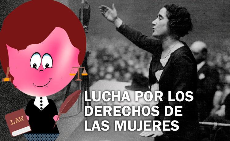 Clara Campoamor, lucha por los derechos de las mujeres