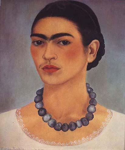 Autorretrato con collar - 1933