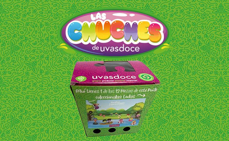 Las chuches de Uvasdoce variedades de uva para los peques