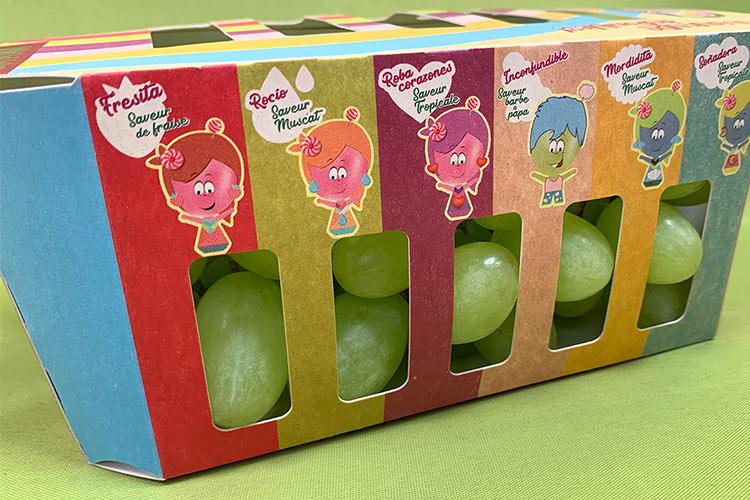 Packaging especial Las chuches Uvasdoce